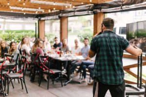 Beat the fear of public speaking